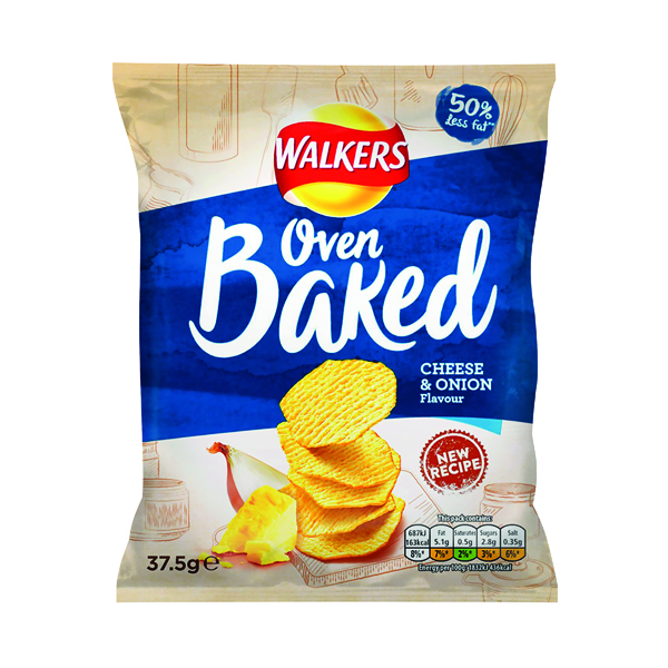 Unspecified Walkers Baked Cheese and Onion 37.5g (32 pack) 101011