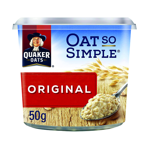 Breakfast/Snacks Oat So Simple Original Pot 50g (8 pack) 199985