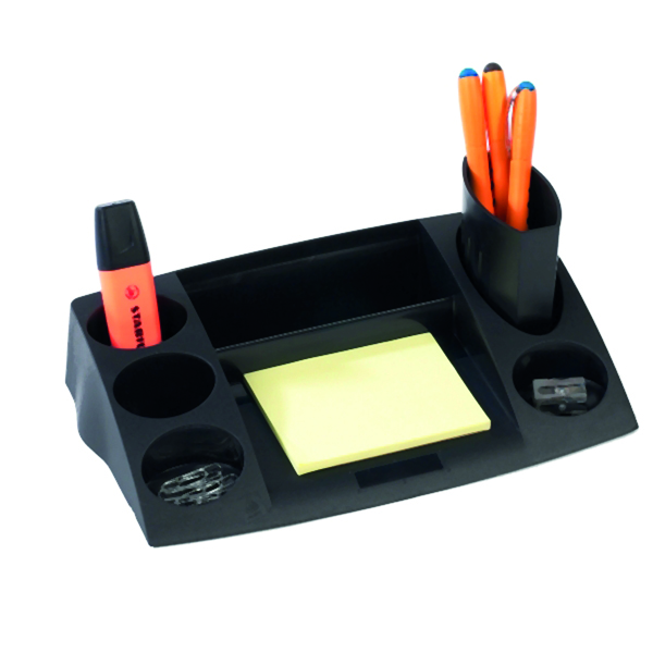 Organiser Avery DTR Eco Desk Tidy Black DR400BLK
