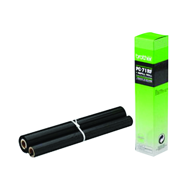 Brother Thermal Transfer Black Ribbon Ink Film PC71RF