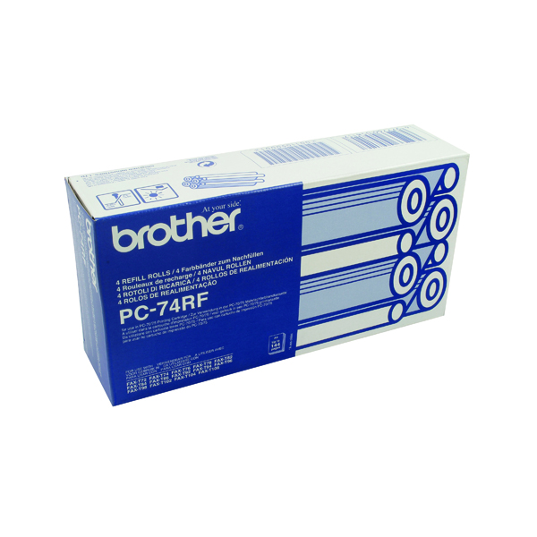 Brother Thermal Transfer Ink Ribbon (4 Pack) PC74RF