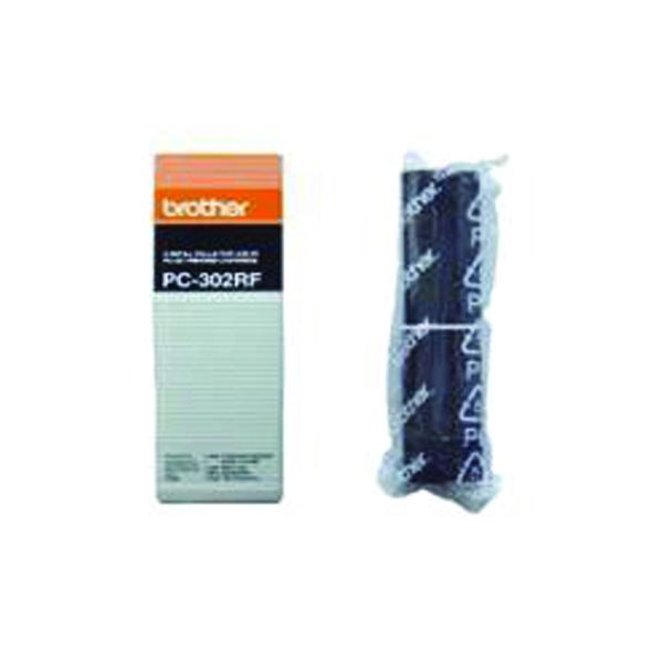 Brother Black Thermal Transfer Film Ribbon (2 Pack) PC302RF