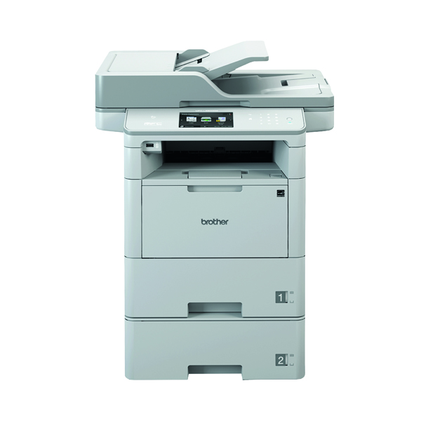 Multifunctional Machines Brother MFC-L6900DWT All in one Mono Laser Printer MFC-L6900DWT