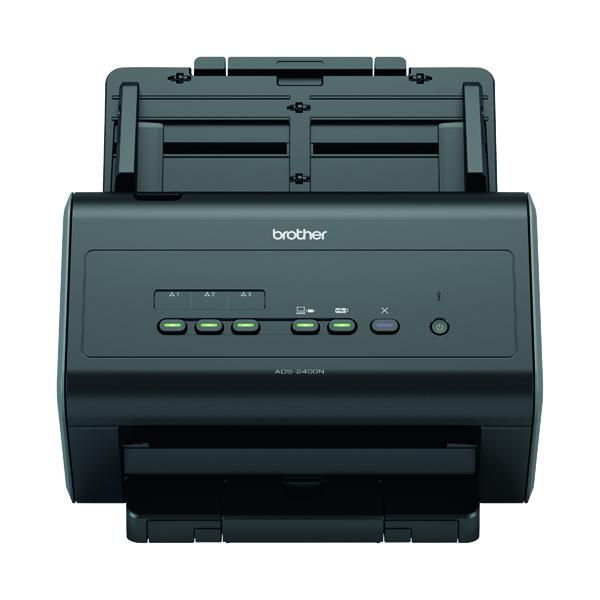 Scanners Brother ADS-2400N High Speed Desktop Scanner ADS2400NZU1