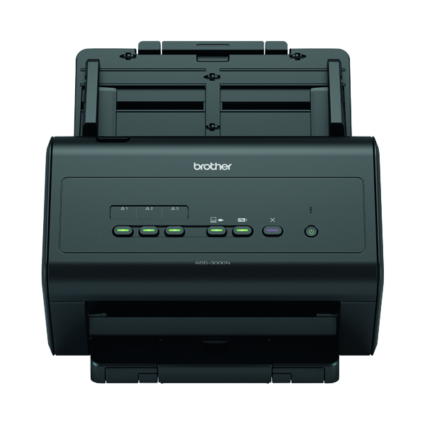 Scanners Brother ADS-3000N High Speed Desktop Scanner ADS3000NZU1