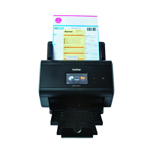 Scanners Brother ADS-2800W Touch Screen Desktop Scanner ADS2800WZU1