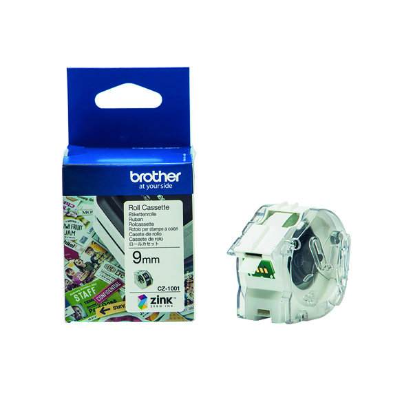 Unspecified Brother Label Roll 9mm x 5m CZ1001