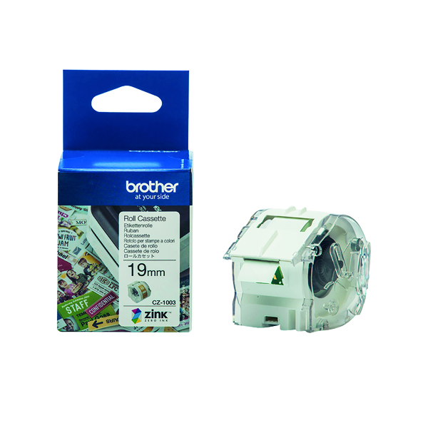 Unspecified Brother Label Roll 19mm x 5m CZ1003
