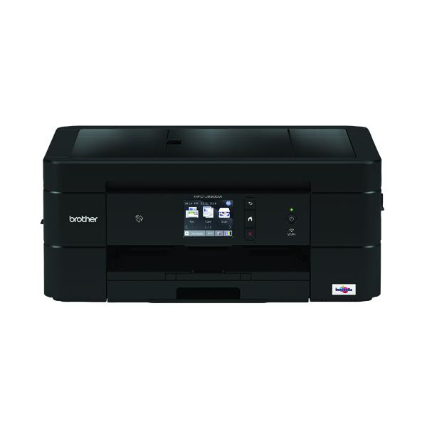 Inkjet Printers MFC-J890DW Brother 4-In-1 Inkjet Printer MFCJ890DWZU1