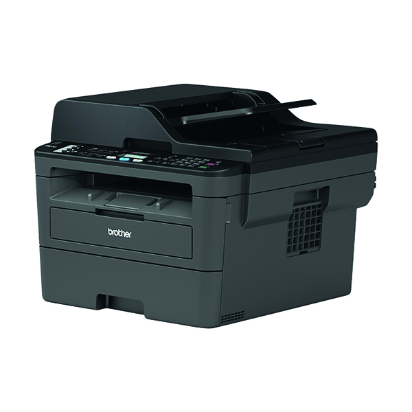 Laser Printers Brother MFC-L2710DN Mono Laser All-In-One Printer MFCL2710DNZU1