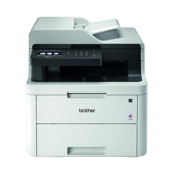 Laser Printers Brother MFC-L3710CW Wireless Colour LED 4 in 1 Printer MFCL3710CWZU1