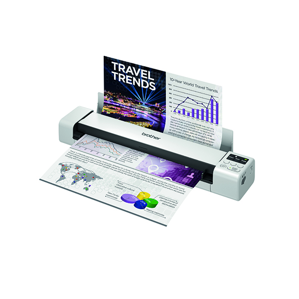 Scanners Brother DS940W 2-Sided Wireless Portable Document Scanner  DS940DWTJ1