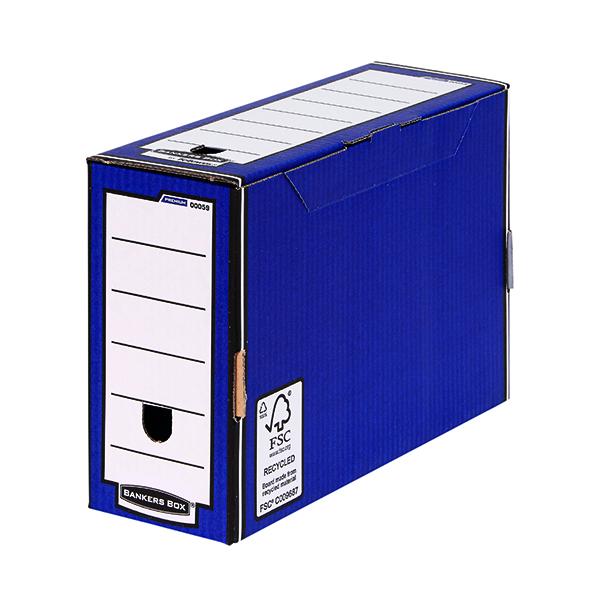 Bankers Box Blue Premium Transfer Files (10 Pack) 0005902