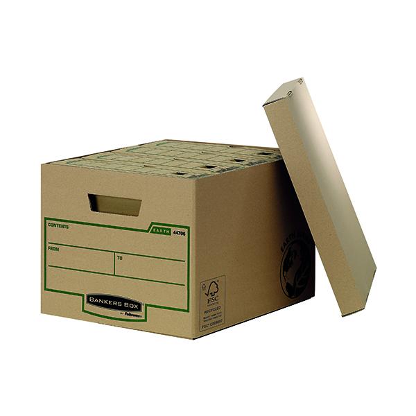 Bankers Box R-Kive Earth Storage Box Brown (10 Pack) 4470601
