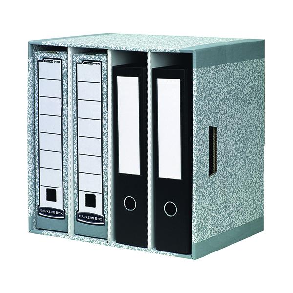 Various Bankers Box Grey File Store (5 Pack) 01840