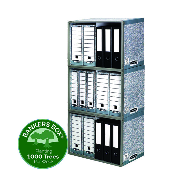 Bankers Box System Stax File Store (5 Pack) 01850