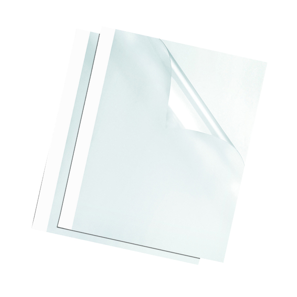 Fellowes White 3mm Thermal Binding Covers (100 Pack) 53152