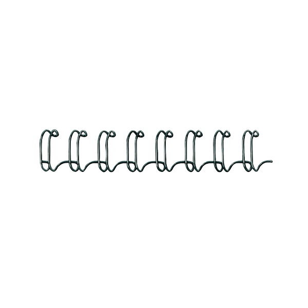 Binding Wires Fellowes 6mm Black Wire Binding Element (100 Pack) 53218