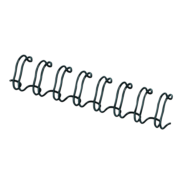 Binding Wires Fellowes 10mm Black Wire Binding Element (100 Pack) 53265