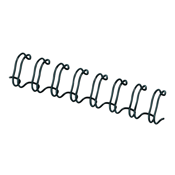 Binding Wires Fellowes 12.7mm Black Wire Binding Element (100 Pack) 53273