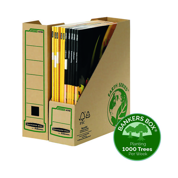 File Bankers Box Earth Series Magazine File Brown (20 Pack) 4470001