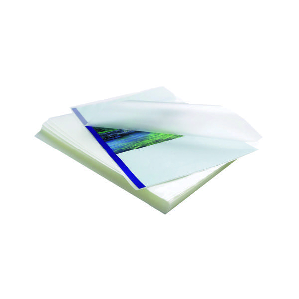 A4 Fellowes Apex Standard A4 Laminating Pouches 200 Micron Clear (100 Pack) 6003301