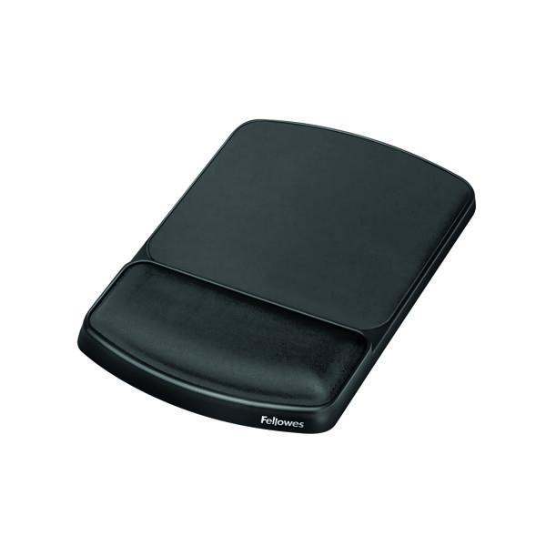 Fellowes Premium Gel Mouse Pad Black 9374001