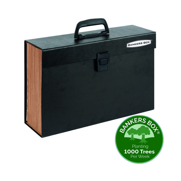 Unspecified Fellowes Bankers Box Expanding Handifile Black 9351501