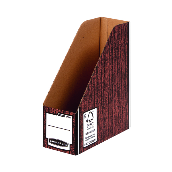 Magazine Files Fellowes Brown Bankers Box Premium Magazine File (10 Pack) 0723301