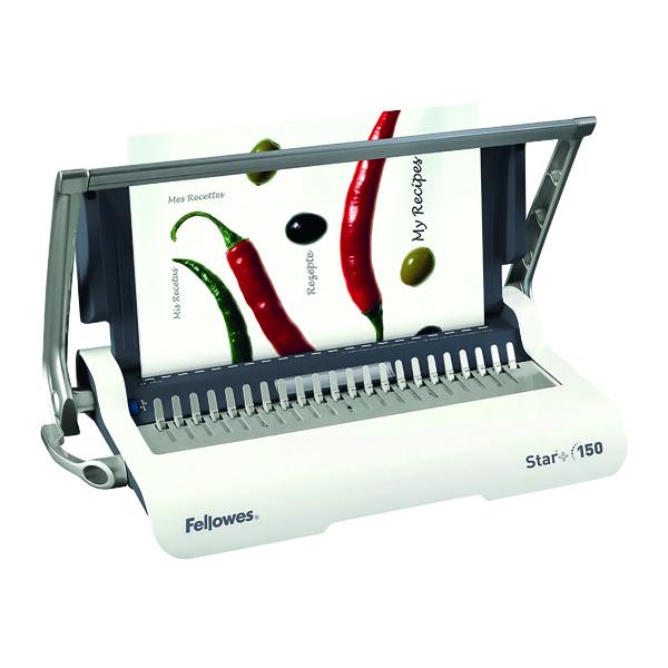 Binding Machines Fellowes Star A4 Manual Comb Binding Machine 5627501