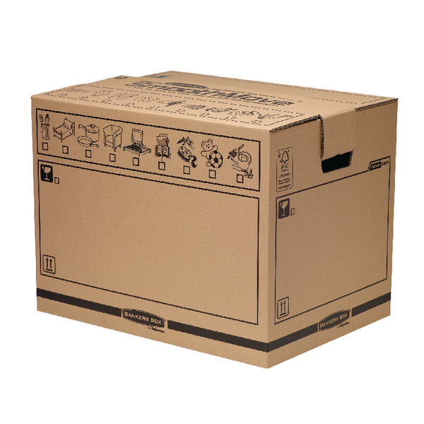 Box Bankers Box Manual Removal Box Trunk H420xW400xD550mm (5 Pack) 6205701