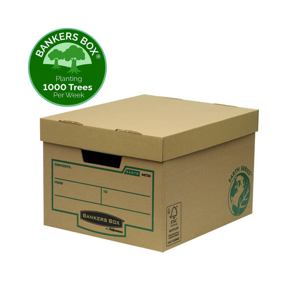Box Bankers Box Earth Series Storage Box Brown (10 Pack) 4472401