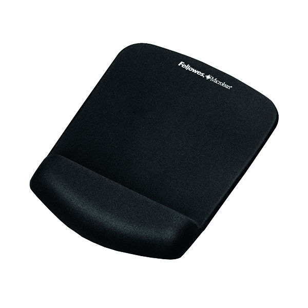 Wrist Rests Fellowes PlushTouch Mouse Pad Black 9252003