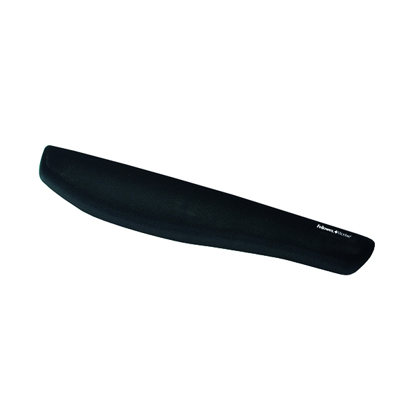 Fellowes PlushTouch Wrist Rest Black 9252103