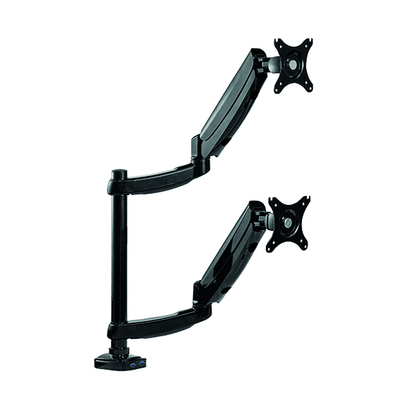 Fellowes Platinum Series Dual Stacking Monitor Arm 8043401