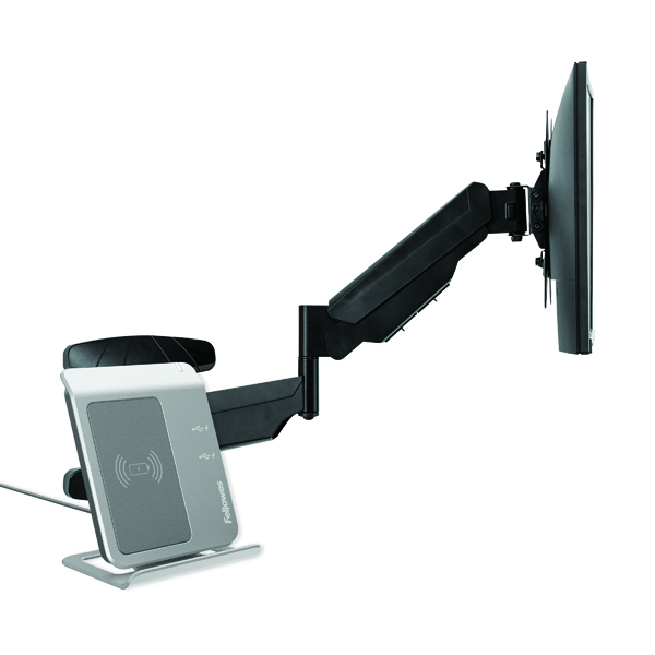 Fellowes Single Arm Wall Mount Monitor Arm 8043501