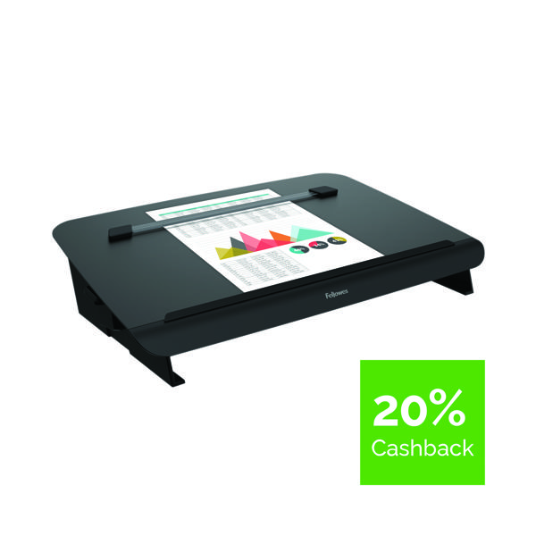 Unspecified Fellowes Hana Writing Slope Adjustable Position Black 8055701