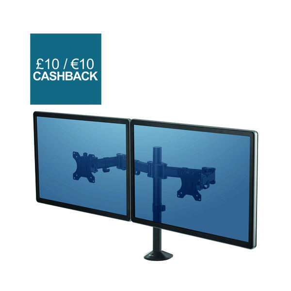Unspecified Fellowes Reflex Dual Monitor Arm 8502601