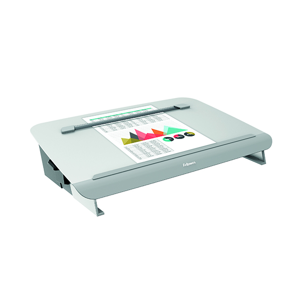 Unspecified Fellowes Hana Writing Slope Adjustable Position Grey 8065801