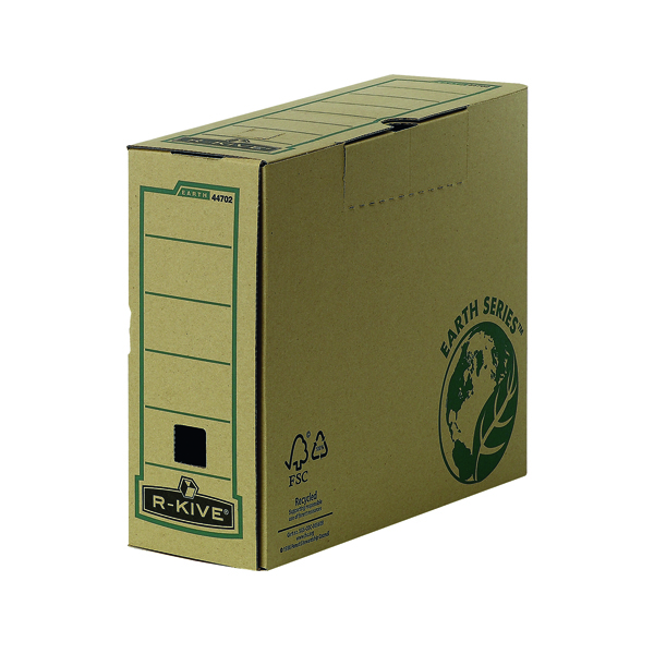 Bankers Box by Fellowes Earth Series Pk20 100mm Transfer Files Buy One Get One Free BB810448