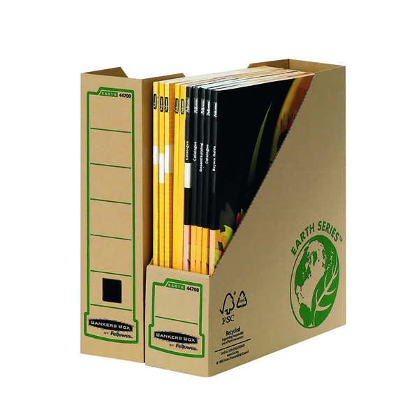 File Fellowes Bankers Box Earth Series Mag File (20 Pack) BOGOF