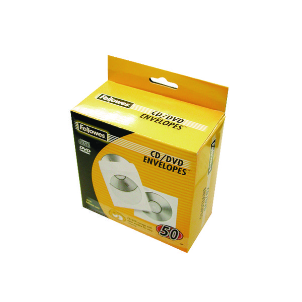 Other Fellowes CD Envelope White Paper (50 Pack) 90690