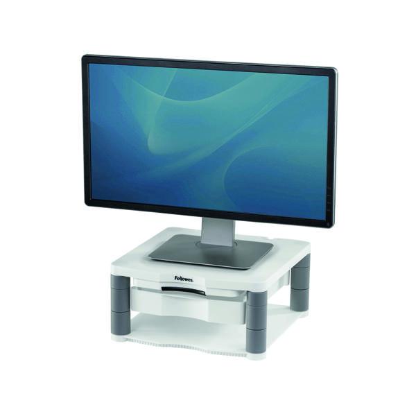 Unspecified Fellowes Premium Monitor Riser Plus Black 9171302