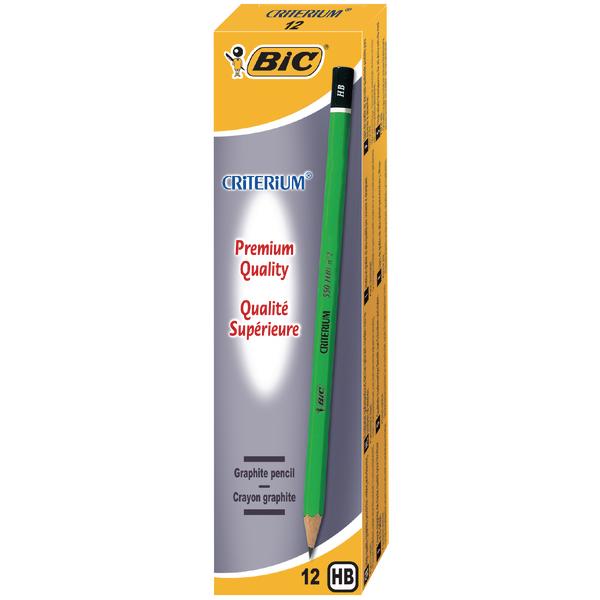 Bic Criterium HB Pencil (12 Pack) 857595