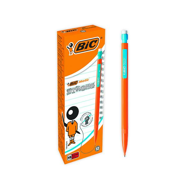0.9mm Bic Matic Original Mechanical Pencil Broad 0.9mm (12 Pack) 892271