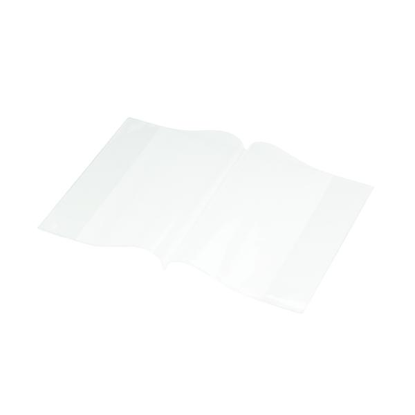 Bright Ideas PVC Book Cover Clear A5 250 Micron (10 Pack) BI9001