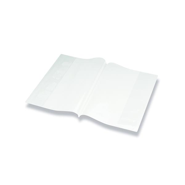 Bright Ideas PVC Book Cover Clear A4 250 Micron (10 Pack) BI9000