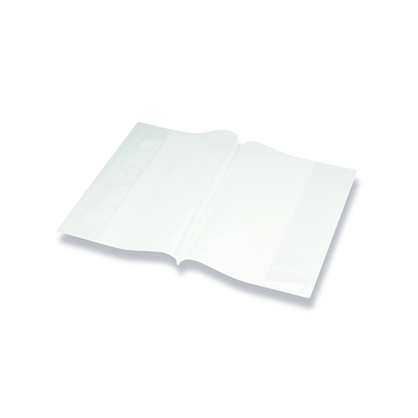 Other Bright Ideas PVC Book Cover Clear A4 250 Micron (10 Pack) BI9000
