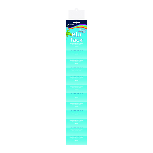 Strong Glues Bostik Blu Tack Impulse Clip Strip (12 Pack) 30813273