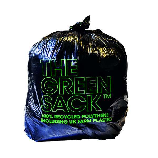 Binliner/Bags The Green Sack Medium Duty Refuse Sack (200 Pack) GR0006